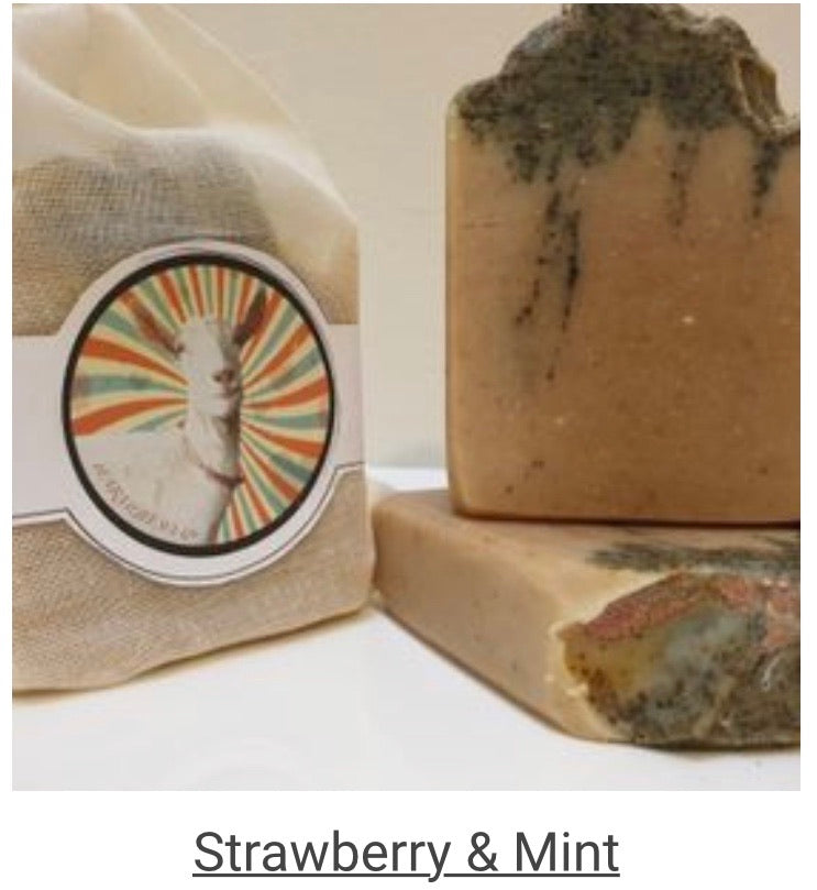 Farmlife Soap - Strawberry & Mint