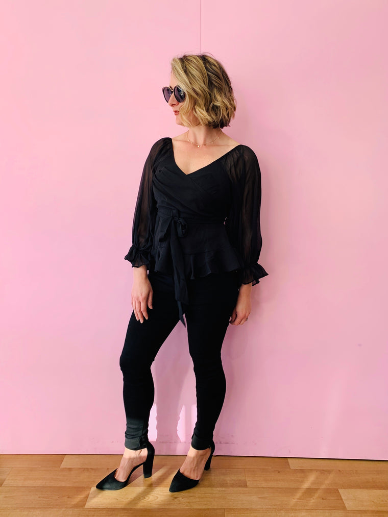 The Charlotte Blouse