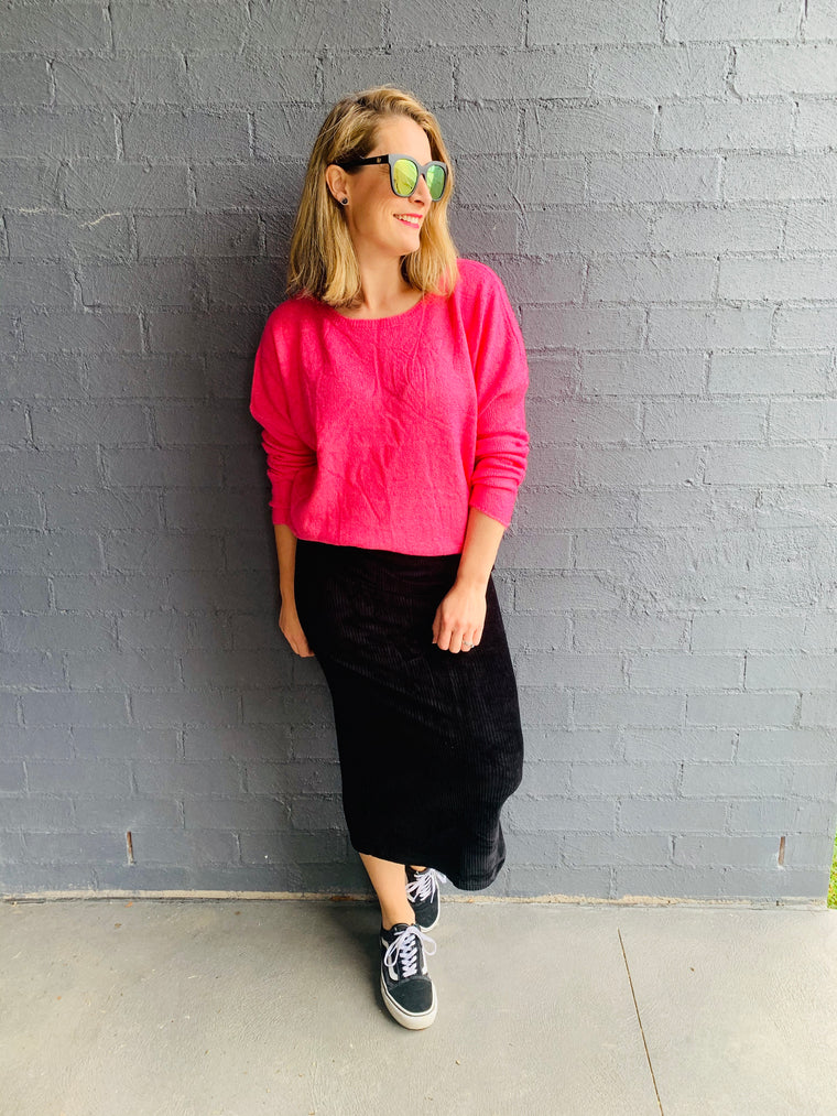 The Charlie Pink Knit