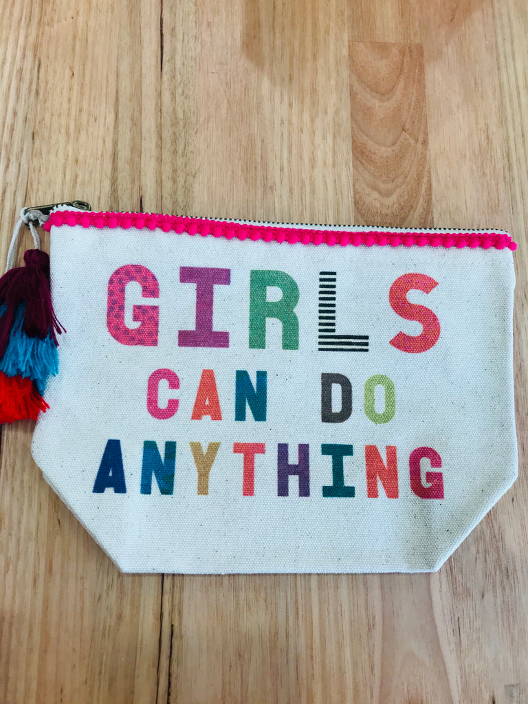 Girls Can Do Anything Pouch