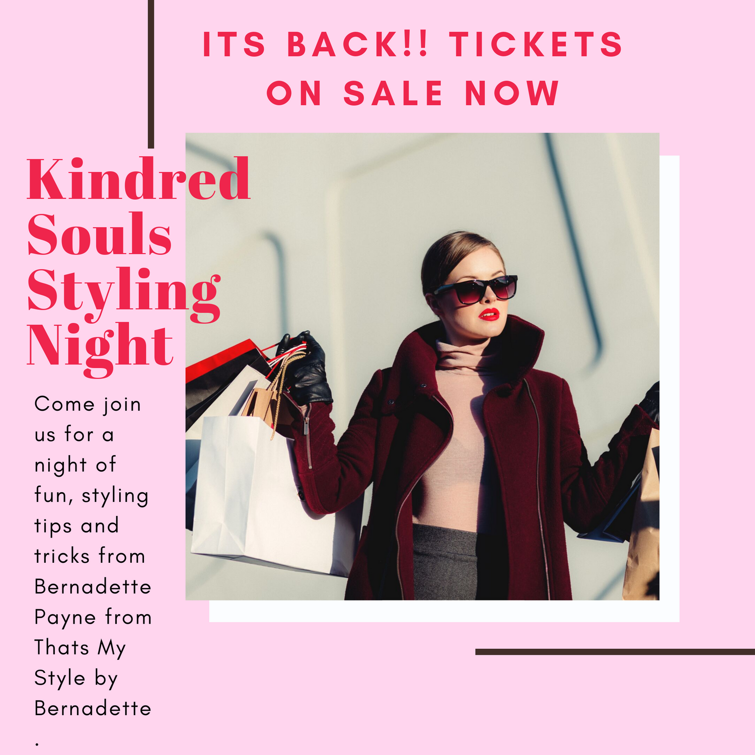Kindred Souls Styling Night