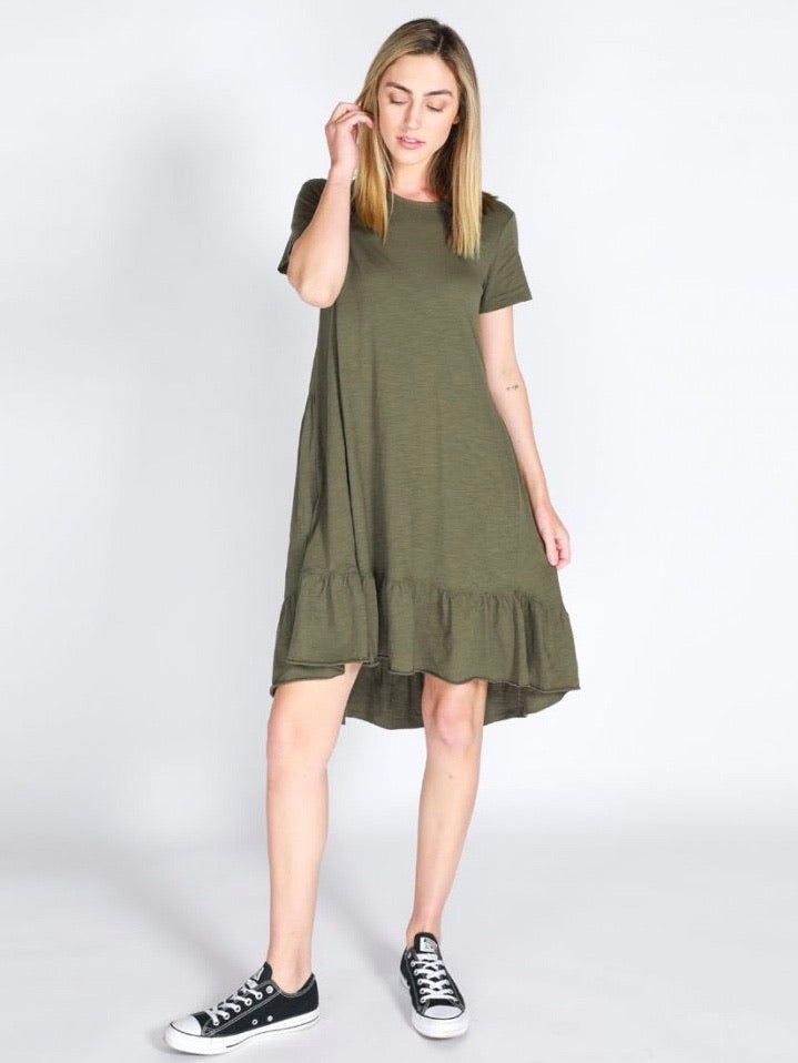 Sienna Dress - Khaki