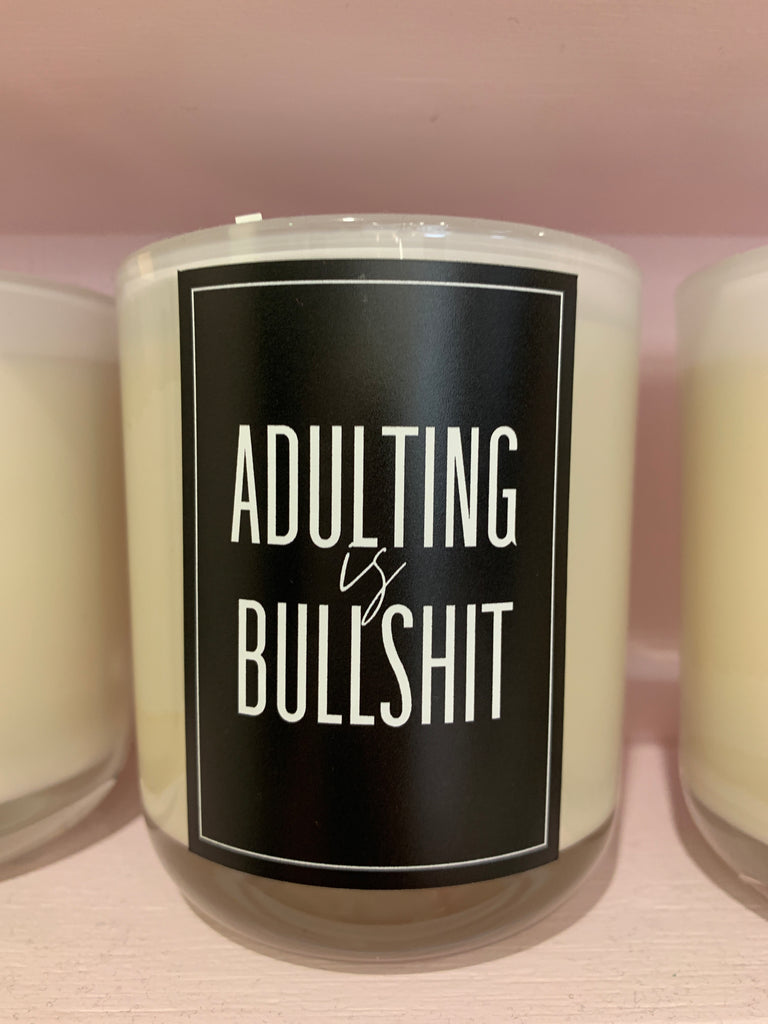Naughty Quote candles