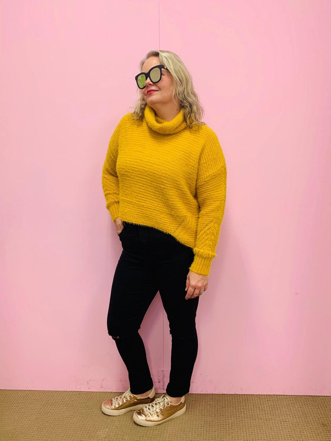 Millee Sweater Mustard