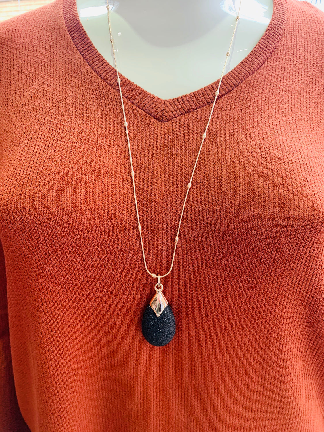 South Island Necklace in Rose Gold