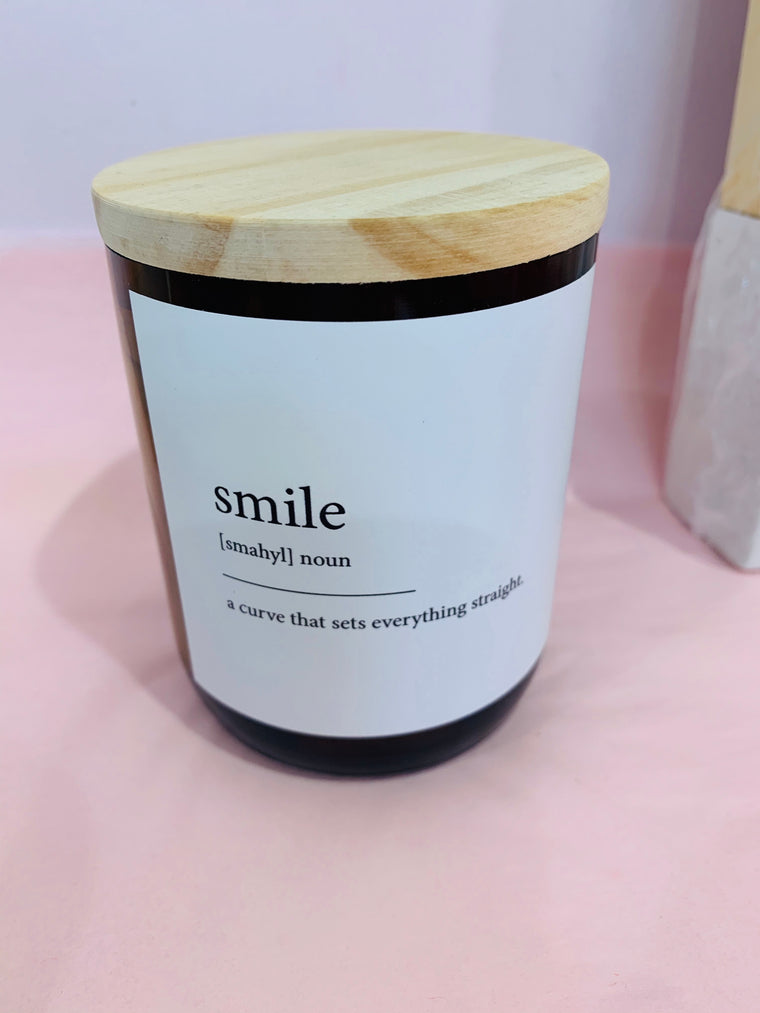 Smile Candle - Hudson