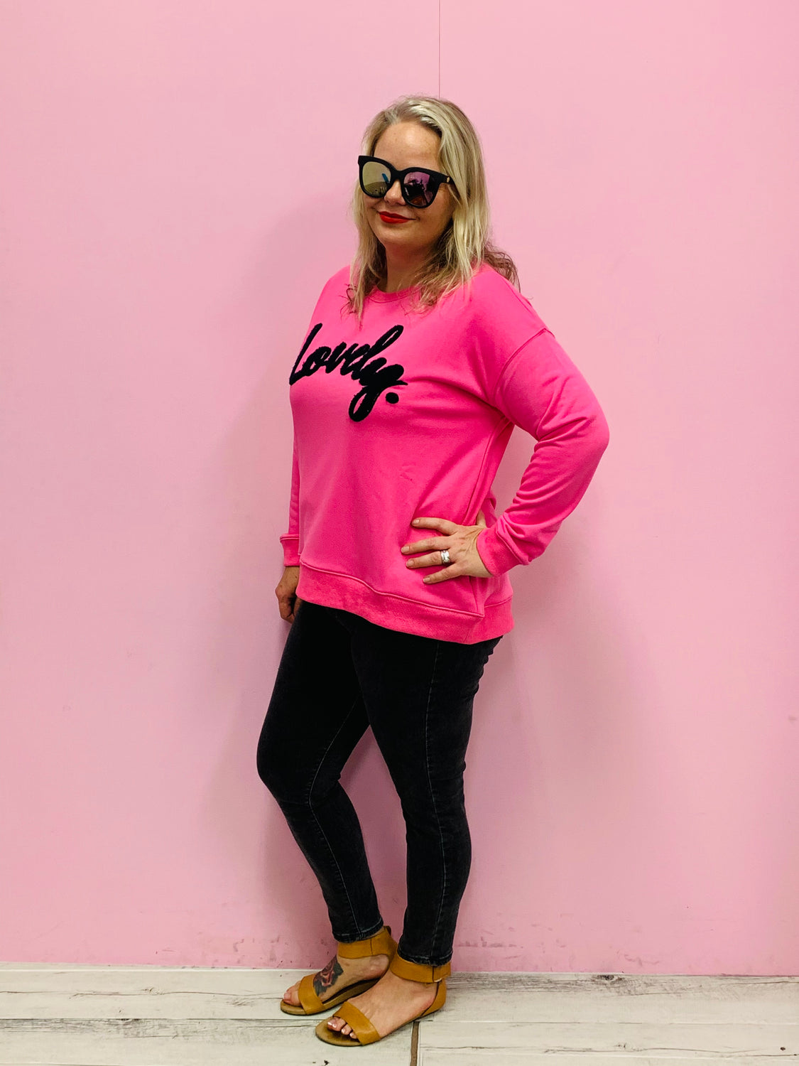 Lovely Sweater - Pink