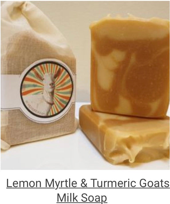 Farmlife Soap - Turmeric and lemon Myrtle