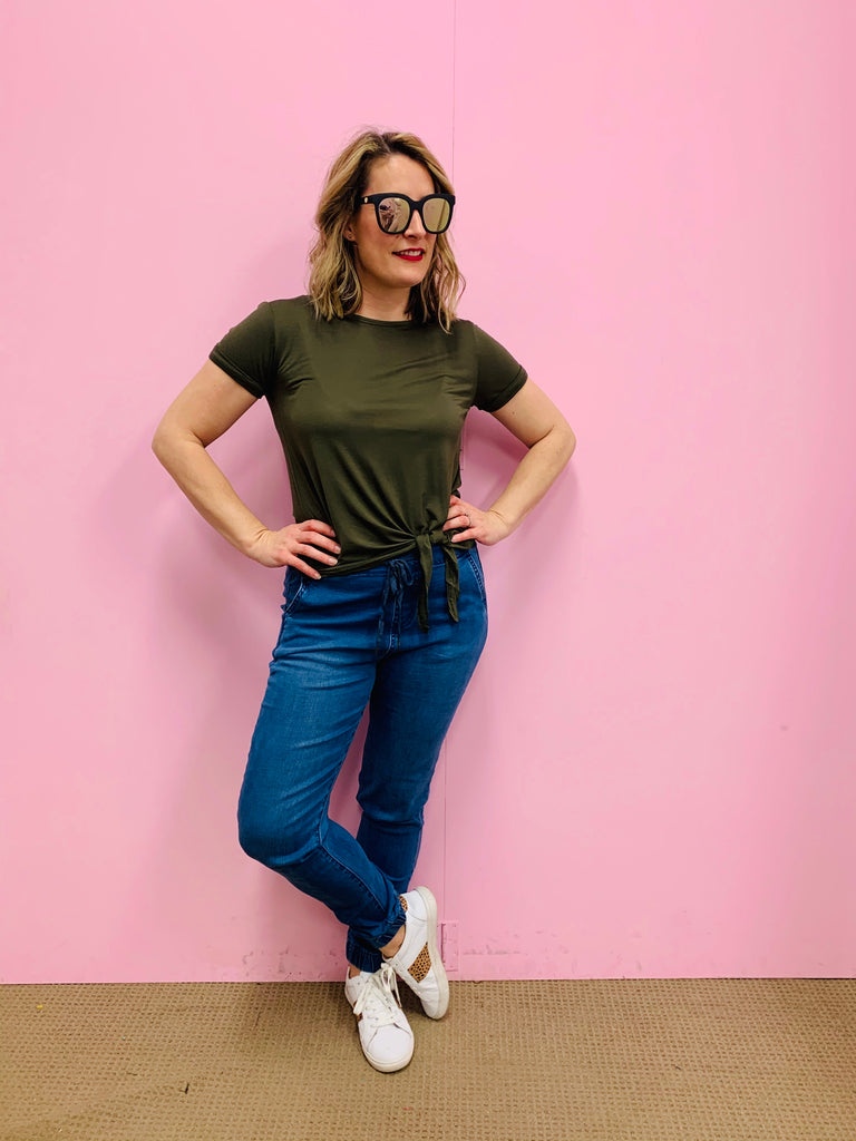 The Khaki Basic Tee