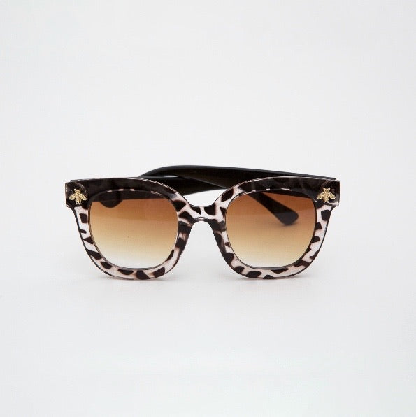 Lenny Sunglasses in Leopard By Shanty