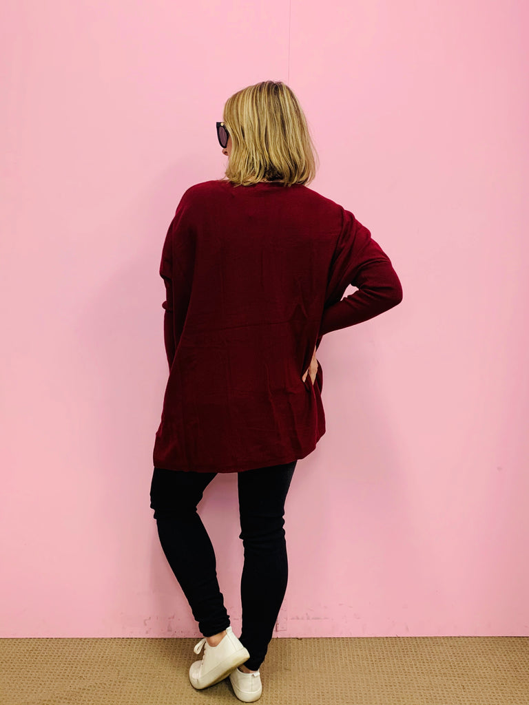 The Knit Basic - Berry