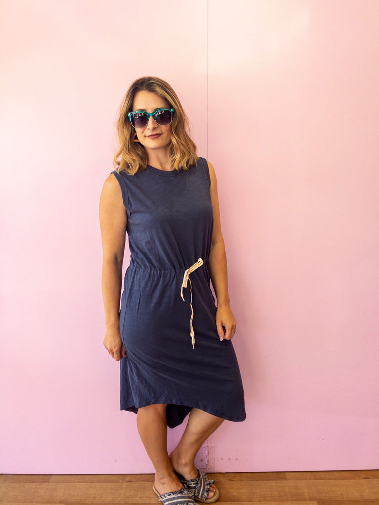 Tyler Dress - Indigo