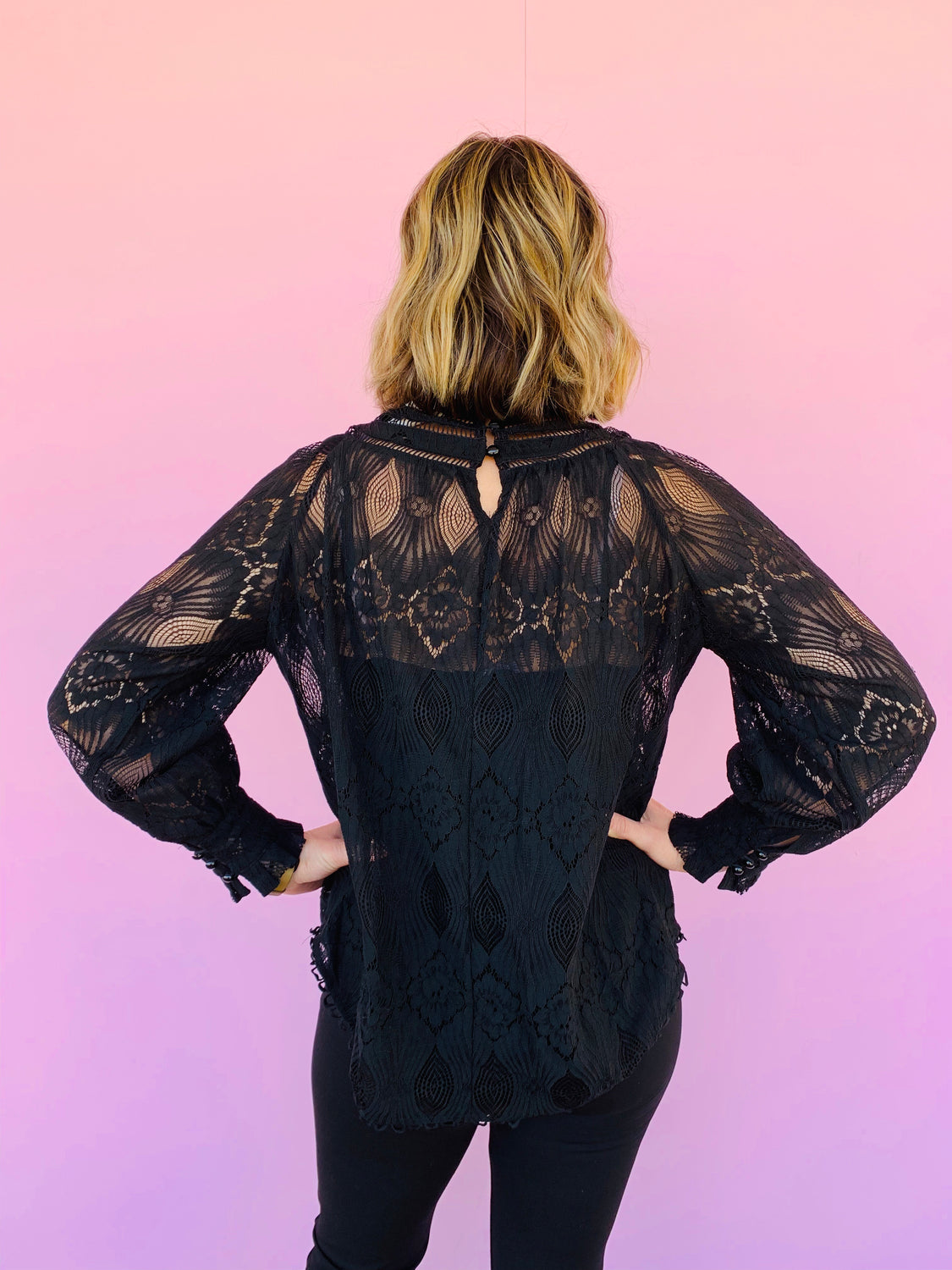 Edwardian Lace Top