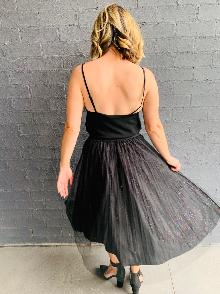 Stars In Her Eyes Midi Skirt