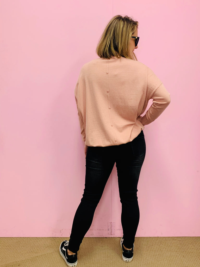 The Morgan Knit - Dusty Pink