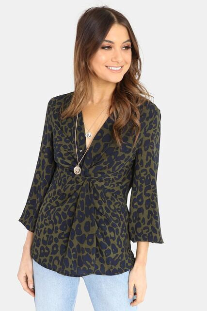 Samara Twist Blouse