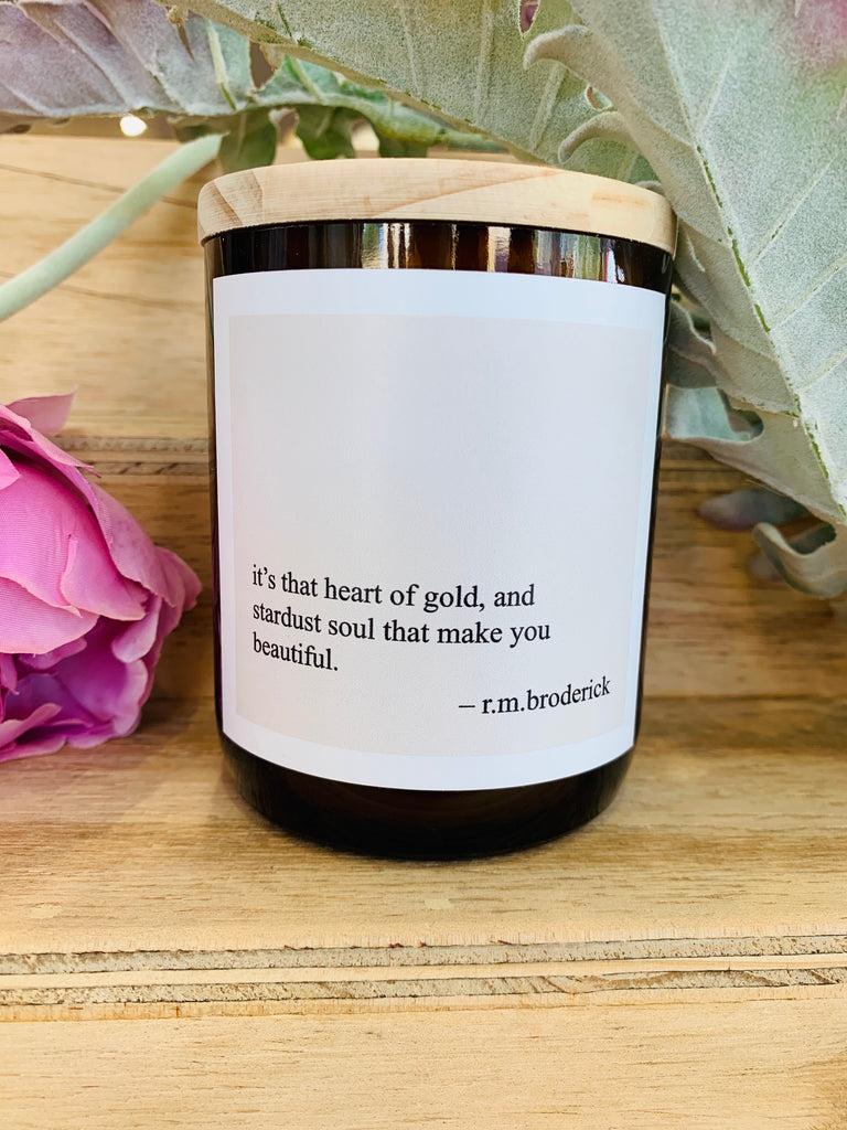 Heart of Gold Candle - Bryon Fragrance