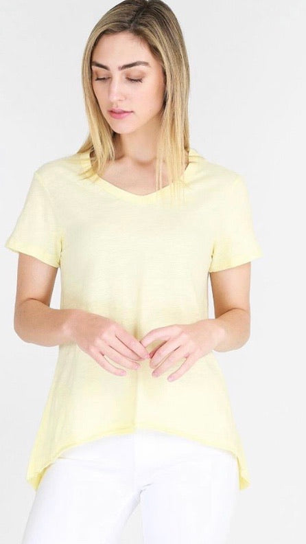 Thorton Tee - Lemon