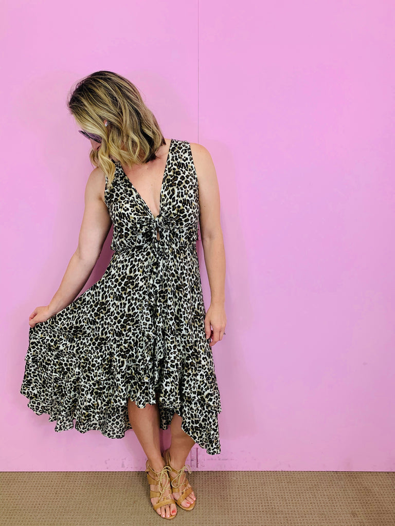 Ryder Leopard Dress