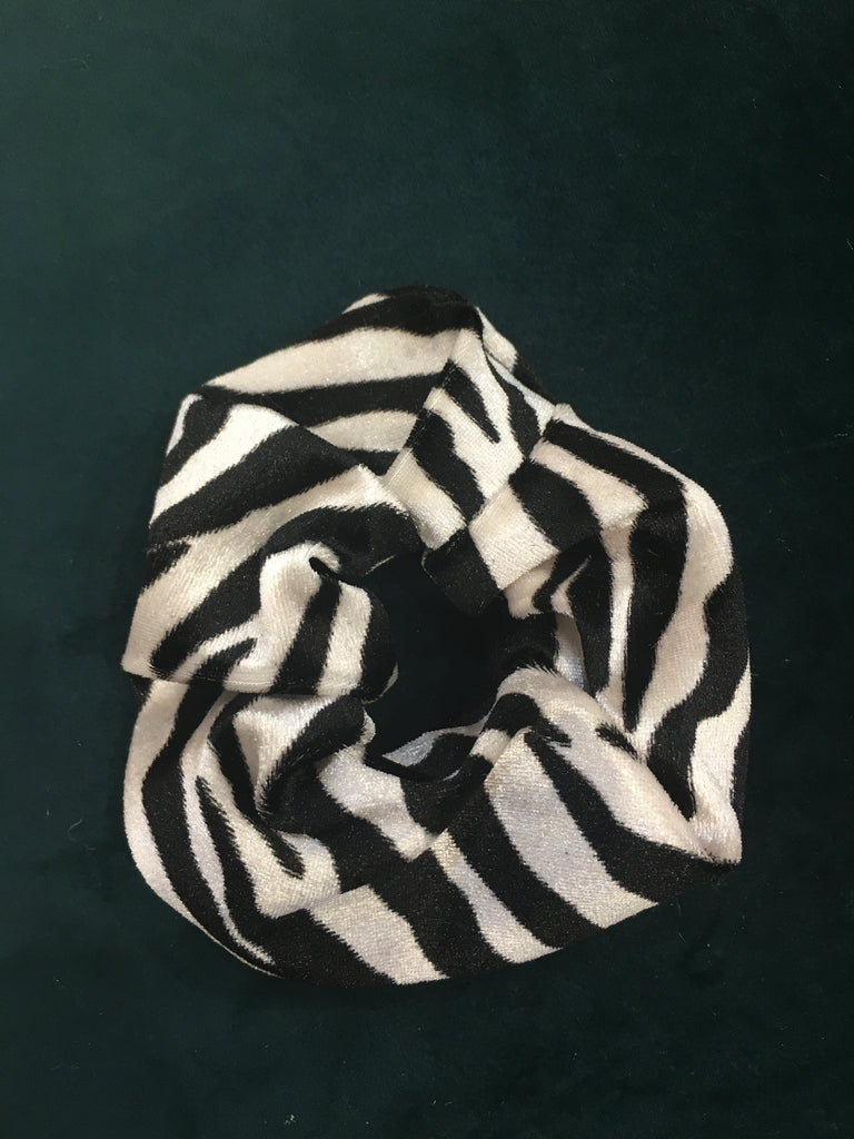 The Zebra Lover Scrunchie
