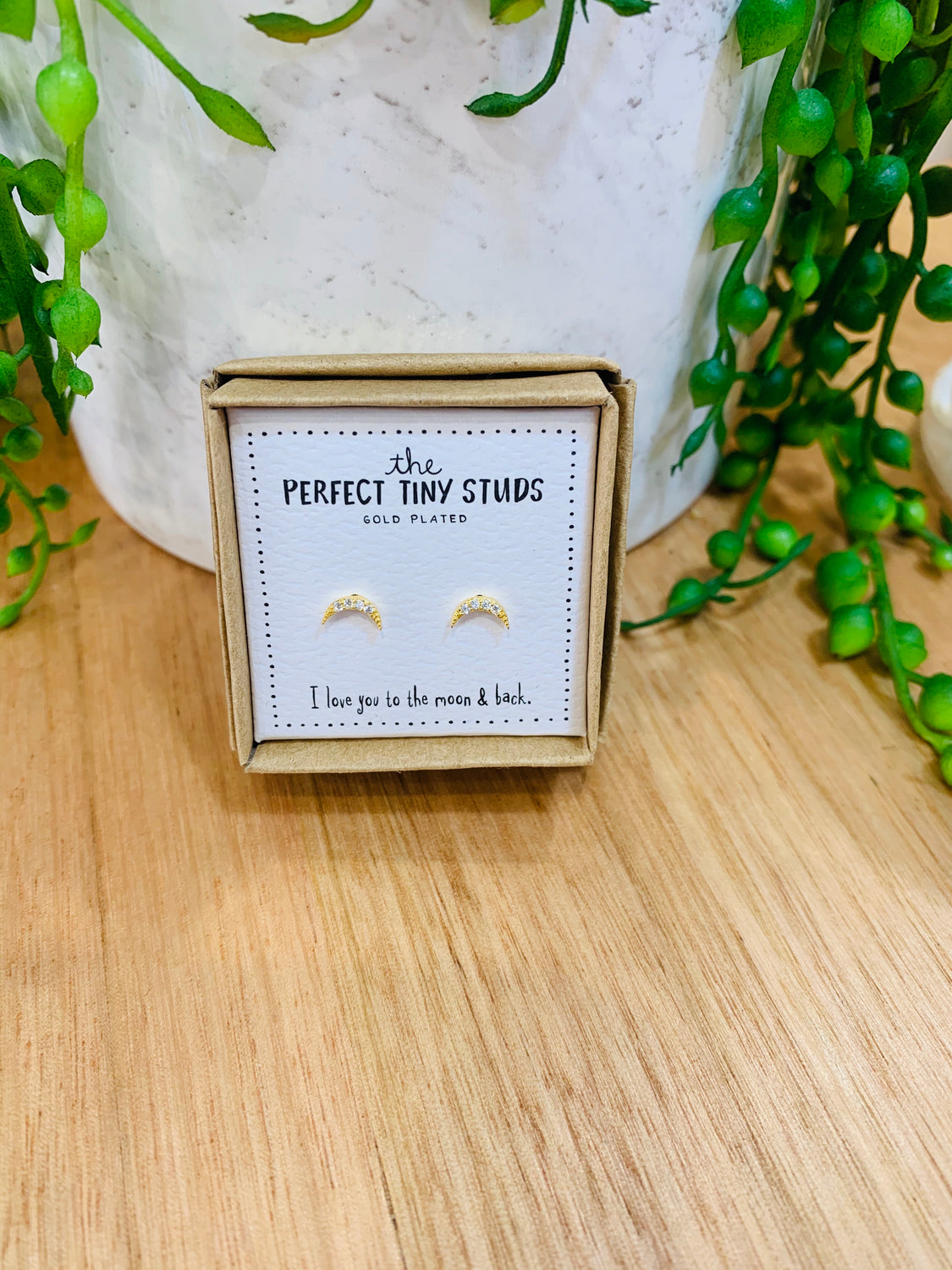 Perfect Tiny Studs - Moons