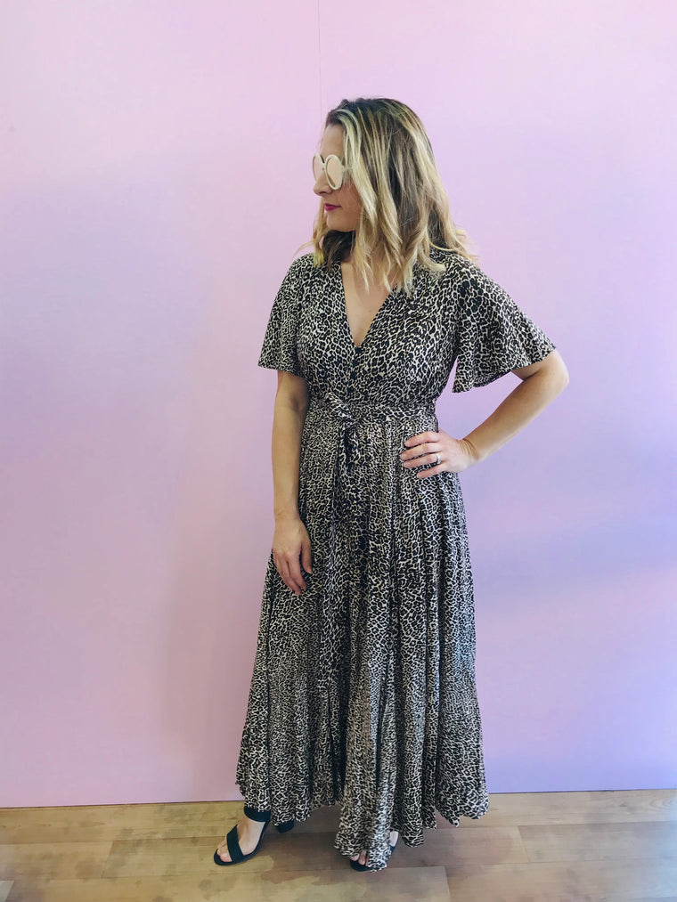 Chaser Print Lia Maxi Dress