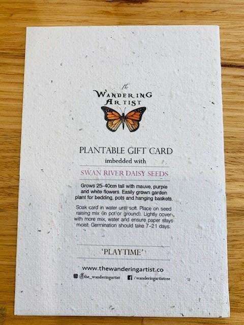 Wandering Artist - Gift Cards