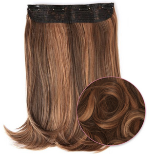 "Synthetic Clip In Hair Extensions 16-20"" – Tiramisu"