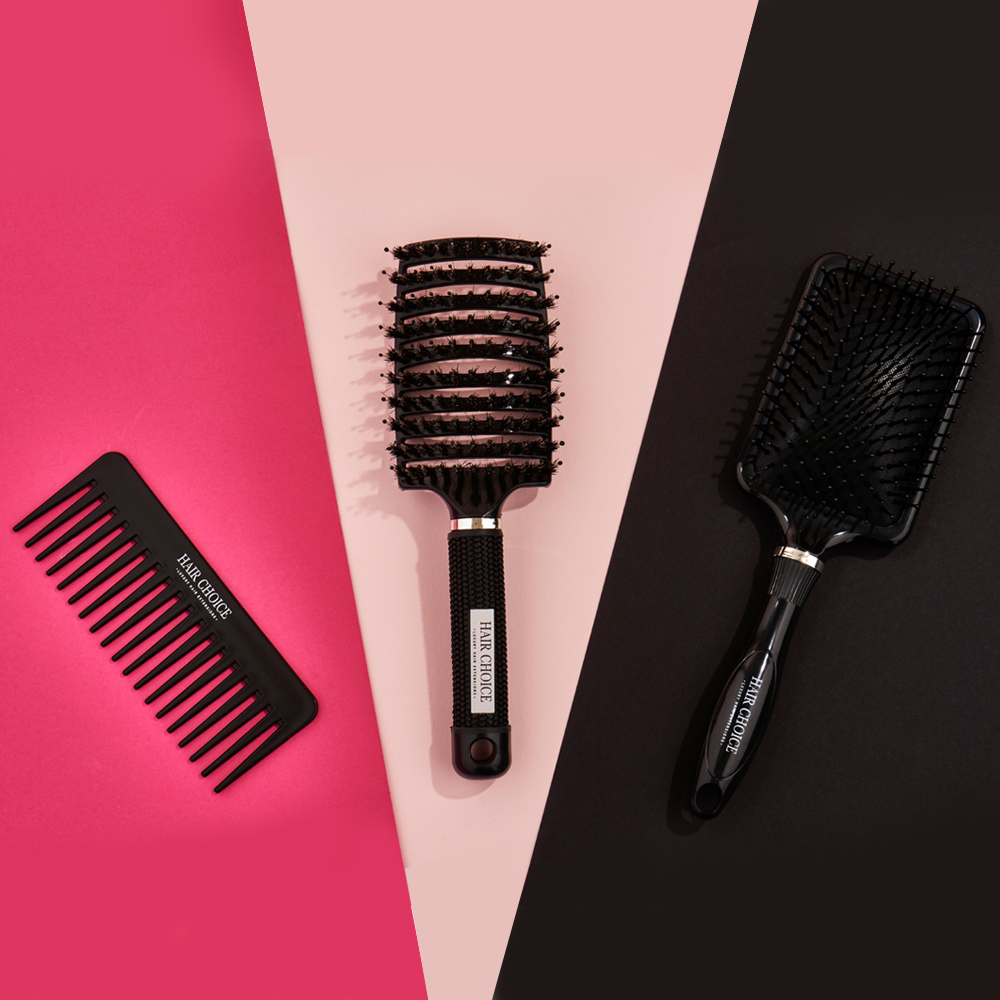 Your Hair Needs Me Brush/Comb Bundle - SAVE £6