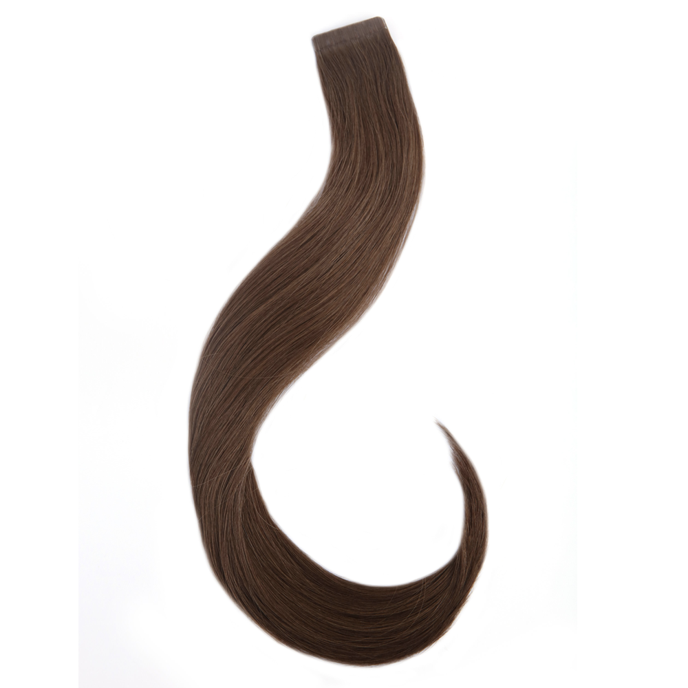 "16"" - 20"" Human Hair Tape Extensions - Mocha"