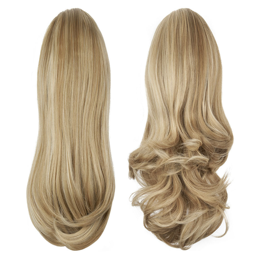 "Pony Piece Clip In Hair Piece 16"" - 20"" Curly or Straight- Bel'Air"