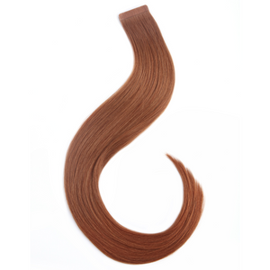 "16"" - 20"" Human Hair Tape Extensions - Copper"