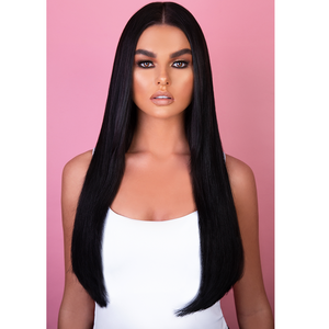"16"" - 20"" Human Hair Tape Extensions - Midnight Sky"