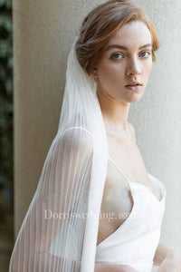 New Arrival Simple Soft Travel Shoot Veil Studio Photography Headdress