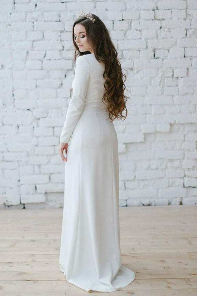 {DorrisDress}{Wedding Dress}-{714939}-back
