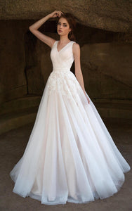 {DorrisDress}{Wedding Dress}-{714635}-front(left)