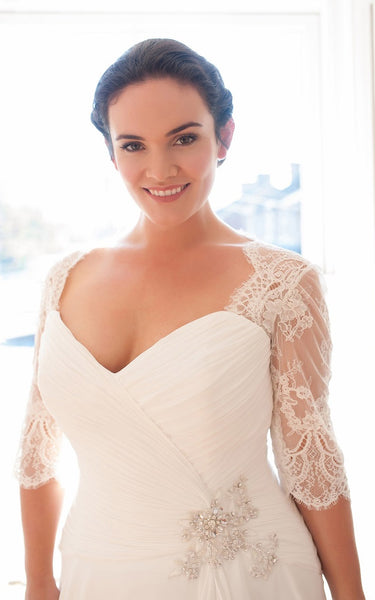 {DorrisDress}{Plus Size Wedding Dress}-{714716}-top