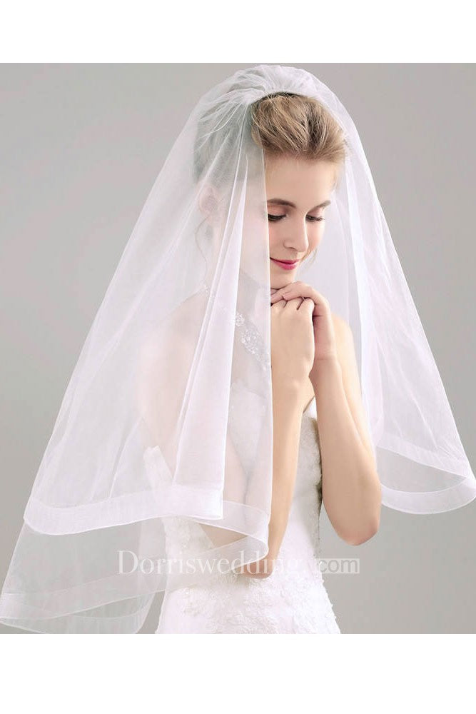 Bridal Veil With Hair Comb Super Fairy Wedding Bridal Wedding Veil Short