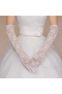 Thin Lace Long Gloves-820044
