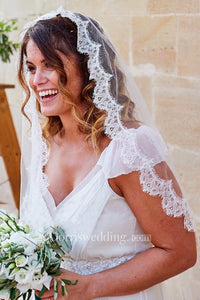 Wedding Veil dress New Eyelash lace Travel Soft Yarn Wedding Accessories