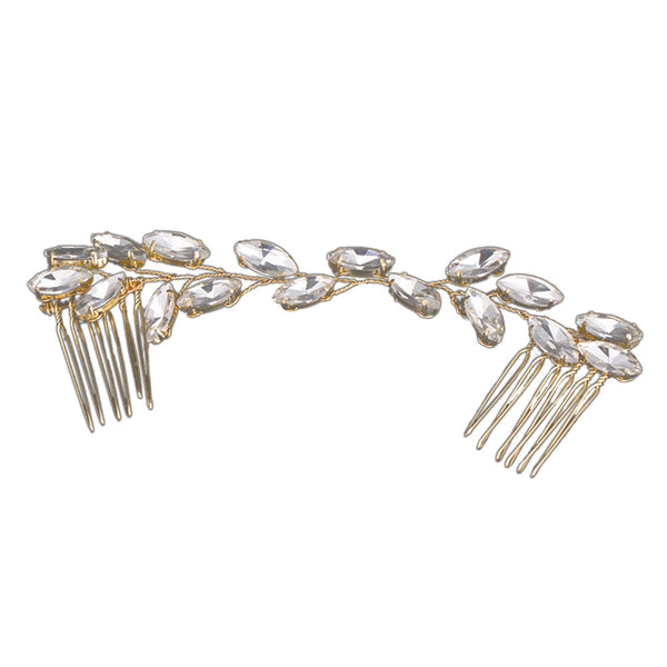 Crystal Bridal Hair Comb Handmade Wedding Hair Accessories for Wedding Party