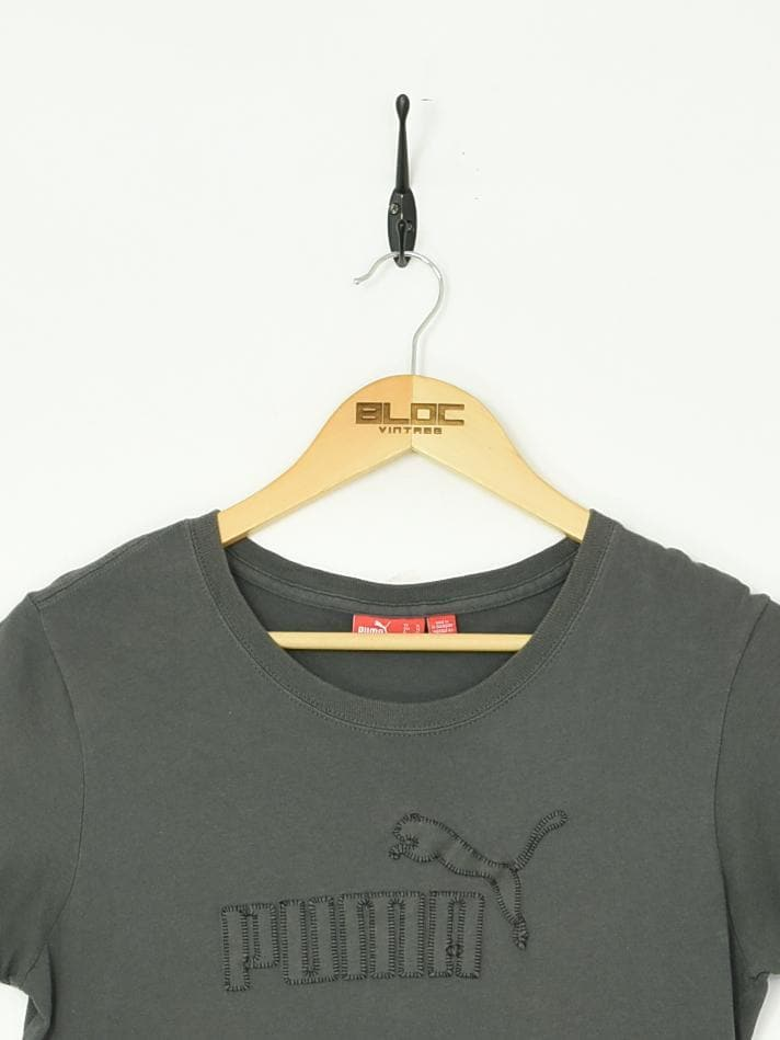 Puma T-Shirt Grey XSmall - BLOC Vintage Clothing