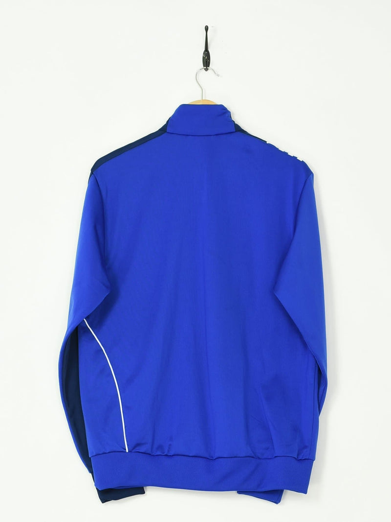 Adidas Tracksuit Top Blue Medium - BLOC Vintage Clothing
