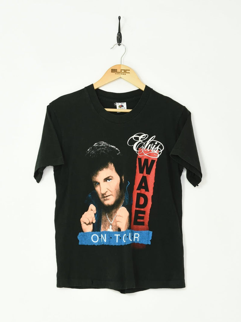 Elvis Wade T-Shirt Black XSmall - BLOC Vintage Clothing