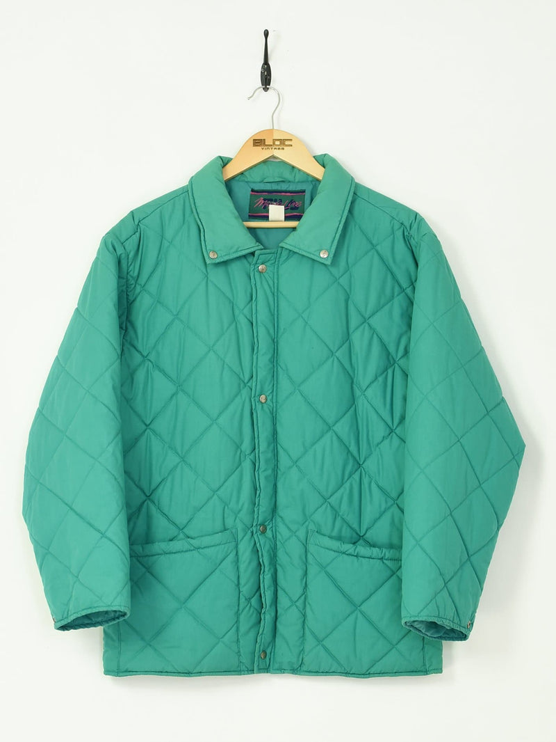 Fila Magic Line Jacket Green Large - BLOC Vintage Clothing