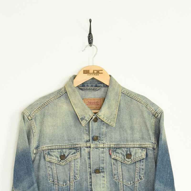 Levis Denim Jacket Blue XXSmall - BLOC Vintage Clothing