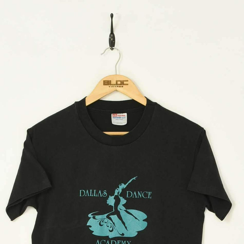 Dallas Dance T-Shirt Black XSmall - BLOC Vintage Clothing