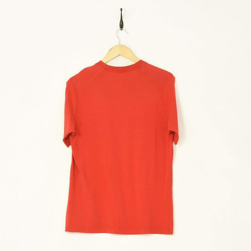 Adidas T-Shirt Red Small - BLOC Vintage Clothing