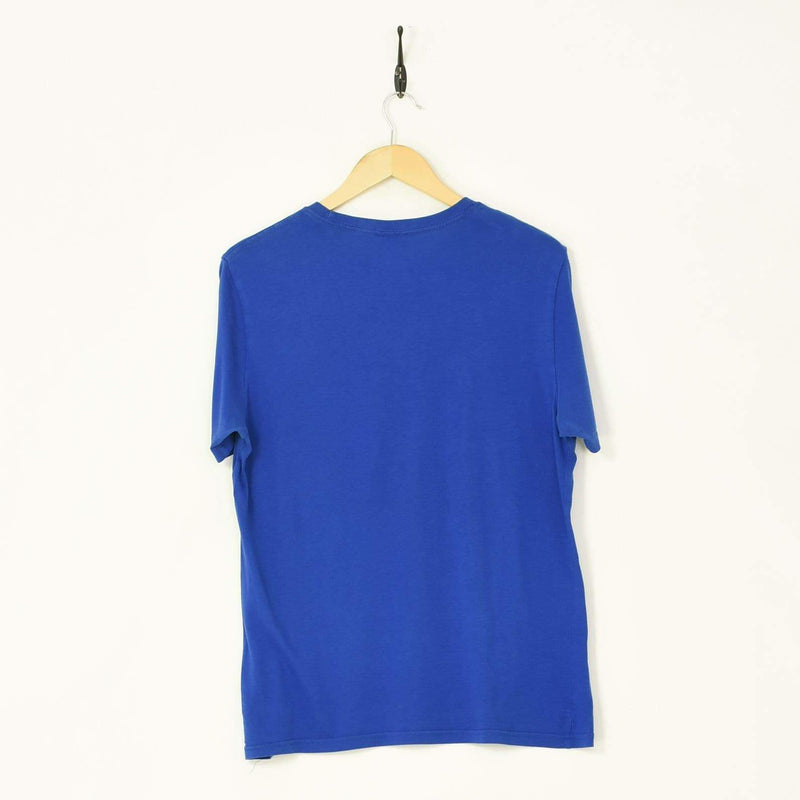 Puma T-Shirt Blue Medium - BLOC Vintage Clothing