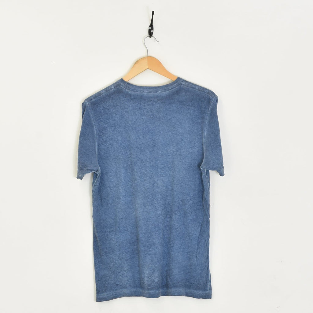 Levis T-Shirt Blue Medium - BLOC Vintage Clothing